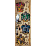 Creative Imaginations - Harry Potter Collection - Cardstock Stickers - Crests