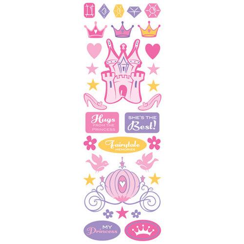 Creative Imaginations - Cardstock Stickers - Princess Jewels