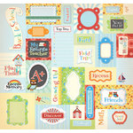 Creative Imaginations - A to Z Collection - 12 x 12 Cardstock Stickers - A to Z