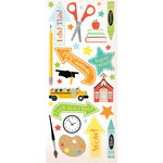 Creative Imaginations - A to Z Collection - Cardstock Stickers - A to Z