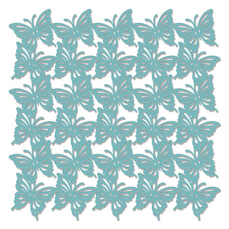 Creative Imaginations - Existencil Expressions Collection - 6 x 6 Stencil Sheet - Butterfly