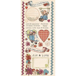 Creative Imaginations - Ragamuffin Collection - Cardstock Stickers