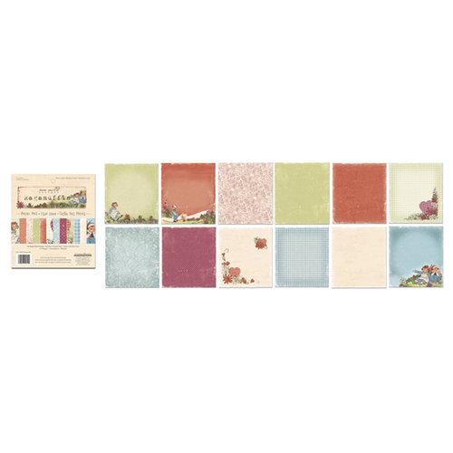 Creative Imaginations - Ragamuffin Collection - 6 x 6.75 Paper Pad
