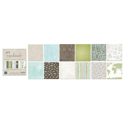 Creative Imaginations - 6 x 6 Paper Pad - Inspired Traveler