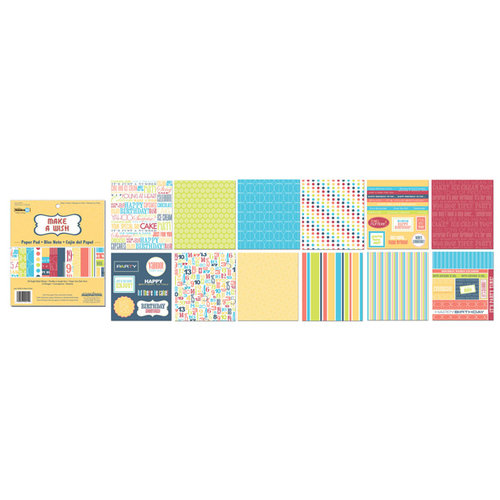 Creative Imaginations - 6 x 6 Paper Pad - Make a Wish
