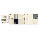 Creative Imaginations - 6 x 6 Paper Pad - Antique Cream