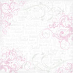 Creative Imaginations - Dance Collection - 12 x 12 Paper with Foil Accents - Ballet