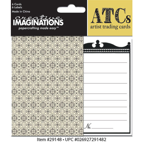 Creative Imaginations - Devotion Collection - Artist Trading Cards