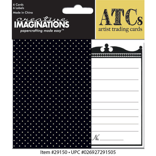 Creative Imaginations - Antique Collection - Artist Trading Cards
