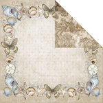 Creative Imaginations - Oceanside Collection - 12 x 12 Double Sided Paper - Seashore