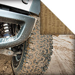 Creative Imaginations - Ford Enthusiast Collection - 12 x 12 Double Sided Paper - Off Road