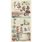 Creative Imaginations - Preposterous Collection - Chipboard Stickers - Preposterous