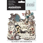 Creative Imaginations - Preposterous Collection - Die Cut Cardstock Pieces