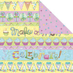 Creative Imaginations - Make a Wish Collection - 12 x 12 Double Sided Paper - Make a Wish