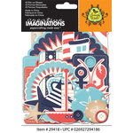 Creative Imaginations - Nautical Collection - Die Cut Cardstock Pieces