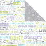 Creative Imaginations - Family Matters Collection - 12 x 12 Double Sided Paper - Family Matters