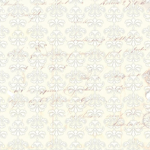 Creative Imaginations - Love Blooms Collection - 12 x 12 Paper with Varnish Accents - Elegance