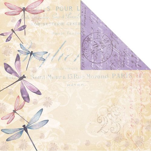 Creative Imaginations - Beautiful You Collection - 12 x 12 Double Sided Paper - Dream