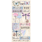 Creative Imaginations - Beautiful You Collection - Cardstock Stickers