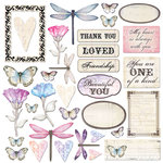 Creative Imaginations - Beautiful You Collection - Die Cut Cardstock Pieces