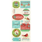 Creative Imaginations - Holiday Joy Collection - Christmas - Cardstock Stickers