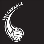 Creative Imaginations - Volleyball Collection - 12 x 12 Embossed Paper - Volleyball