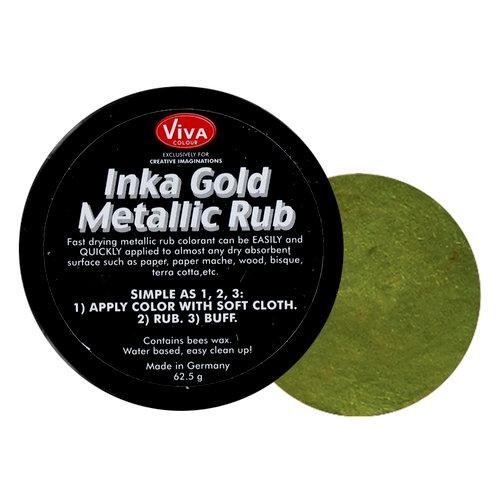 Splash of Color - Viva Colour - Inka Gold Metallic Rub - Green