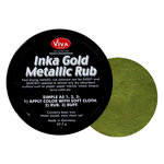 Splash of Color - Viva Colour - Inka Gold Metallic Rub - Green