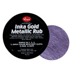 Splash of Color - Viva Colour - Inka Gold Metallic Rub - Violet