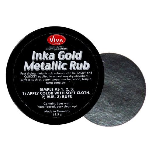 Splash of Color - Viva Colour - Inka Gold Metallic Rub - Hematite