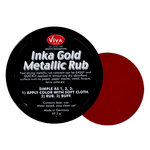Splash of Color - Viva Colour - Inka Gold Metallic Rub - Lava Red