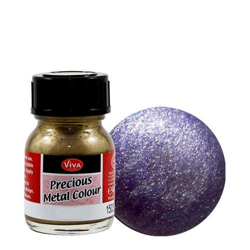 Splash of Color - Viva Colour - Precious Metal Effect Paint - Purple