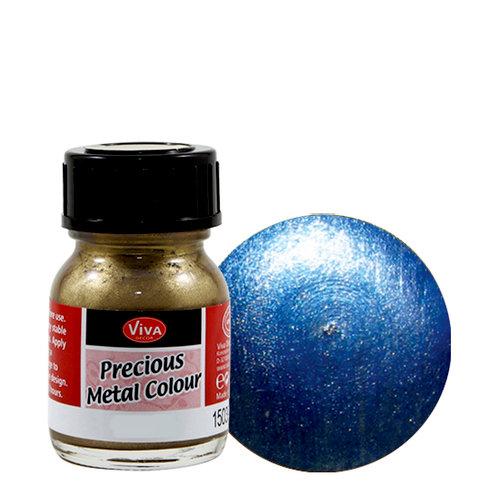 Splash of Color - Viva Colour - Precious Metal Effect Paint - Azure