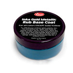 Splash of Color - Viva Colour - Inka Gold Metallic Rub Base Coat - Smokey Blue