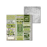 Splash of Color - All Soccer Collection - 12 x 12 Double Sided Paper - Kick This