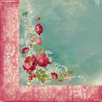 Creative Imaginations - Cotswald Manor Collection - 12 x 12 Double Sided Paper - Beautiful