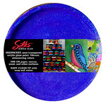 Splash of Color - Luminarte - Silks - Acrylic Glaze - Blue Flame