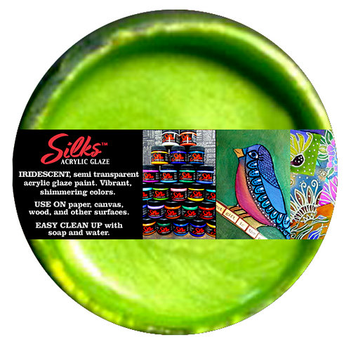 Splash of Color - Luminarte - Silks - Acrylic Glaze - Key Lime