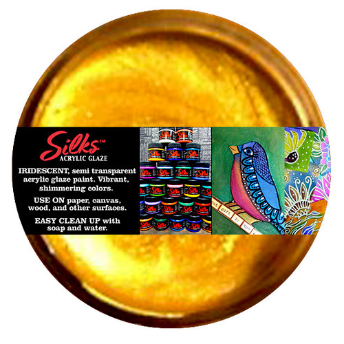 Splash of Color - Luminarte - Silks - Acrylic Glaze - Solar Gold