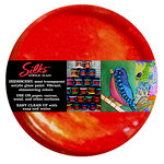 Splash of Color - Luminarte - Silks - Acrylic Glaze - Spicy Tomato
