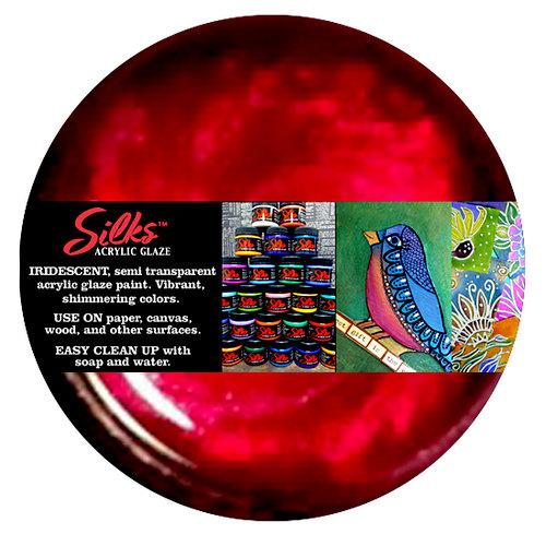 Splash of Color - Luminarte - Silks - Acrylic Glaze - Vavoom Red