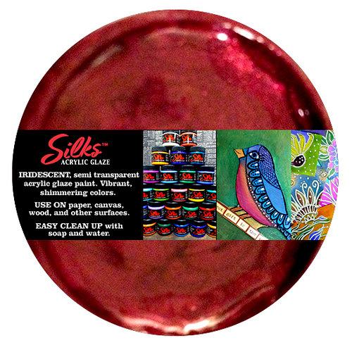 Splash of Color - Luminarte - Silks - Acrylic Glaze - Pomegranate
