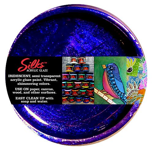Splash of Color - Luminarte - Silks - Acrylic Glaze - Rich Cobalt