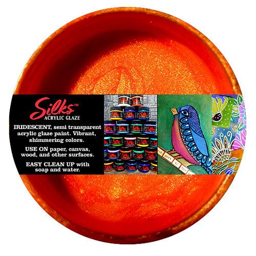 Splash of Color - Luminarte - Silks - Acrylic Glaze - Apricot Nectar