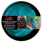 Splash of Color - Luminarte - Silks - Acrylic Glaze - Bolivian Blue