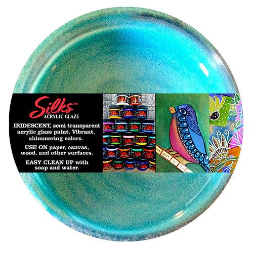 Splash of Color - Luminarte - Silks - Acrylic Glaze - African Jade