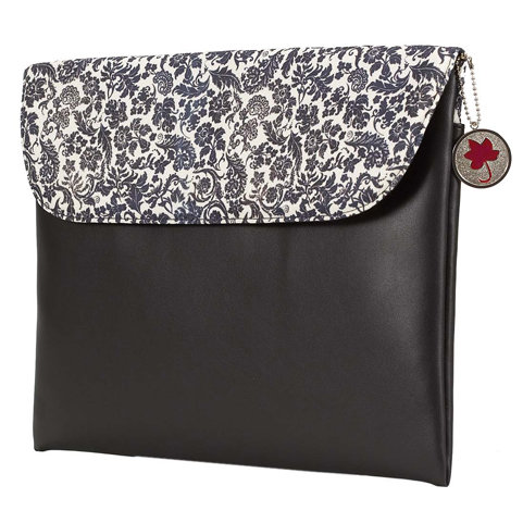 Crop In Style - Red, Black and Cream Collection - Computer Bag
