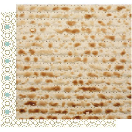 Crafting Jewish Style - Passover Collection - 12 x 12 Double Sided Paper - Mod Matzo, CLEARANCE