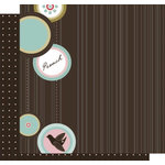 Crafting Jewish Style - Passover Collection - 12 x 12 Double Sided Paper - Pesach Dots, CLEARANCE
