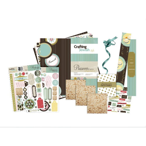Crafting Jewish Style - Passover Collection - 8 x 8 Paper Kit, CLEARANCE